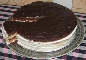 Торт «Минутка» в микроволновой печи