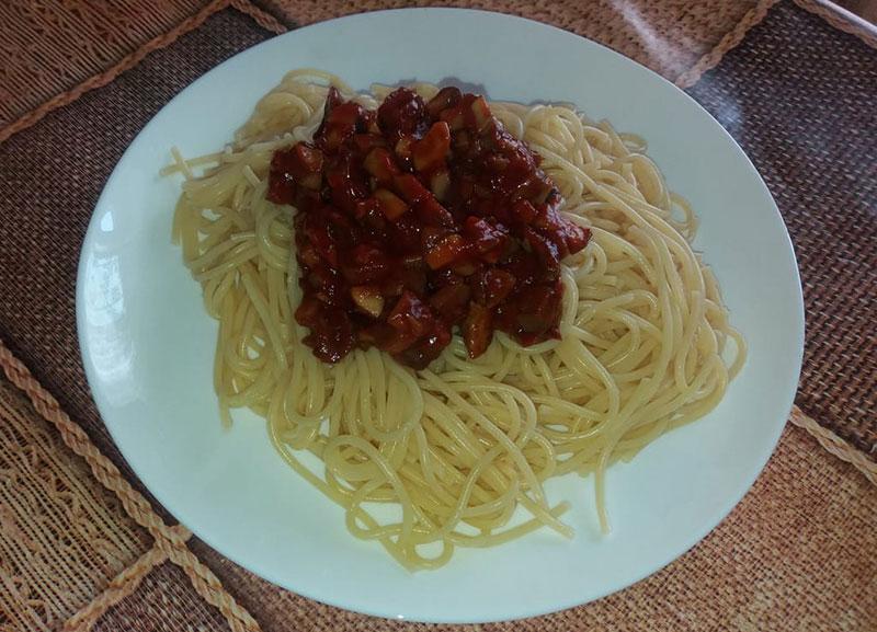 Как приготовить быстрый и вкусный грибной соус к спагетти? Рецепт с фото